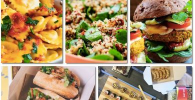 Opciones Comida Delivery platos en tu domicilio