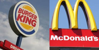 McDonald´s y Burger King se pasan a Glovo, Just-Eat y Deliveroo